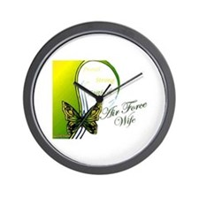 Air Force Wife Wall Clock
