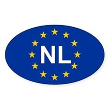 EU Netherlands Decal