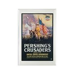 Pershing's Crusaders Poster Art Rectangle Magnet (