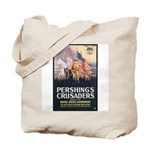 Pershing's Crusaders Poster Art Tote Bag