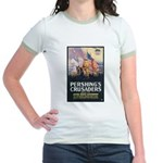 Pershing's Crusaders Poster Art Jr. Ringer T-Shirt