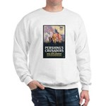 Pershing's Crusaders Poster Art (Front) Sweatshirt