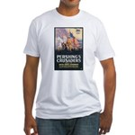 Pershing's Crusaders Poster Art Fitted T-Shirt