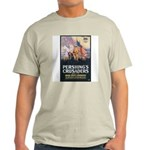 Pershing's Crusaders Poster Art (Front) Ash Grey T