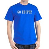 Go Edith Black T-Shirt