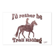 Riding Trails Postcards (Package of 8)