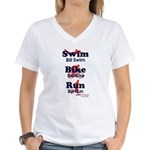 Team Litke Women's V-Neck T-Shirt