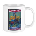 Careless Work Warning Poster Art Mug