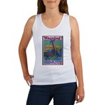 Careless Work Warning Poster Art Women's Tank Top