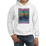 Careless Work Warning Poster Art Hooded Sweatshirt