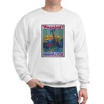 Careless Work Warning Poster Art Sweatshirt