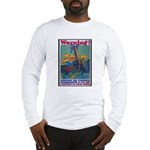 Careless Work Warning Poster Art Long Sleeve T-Shi