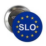 "EU Slovenia 2.25"" Button (10 pack)"
