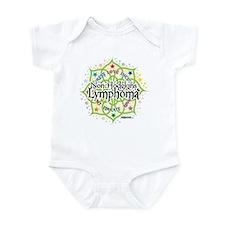 Non-Hodgkins Lymphoma Lotus Infant Bodysuit