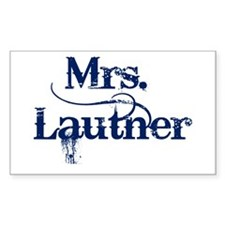 Mrs. Lautner Decal