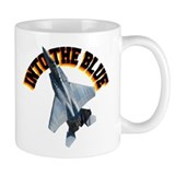 F15 Into the Blue Mug