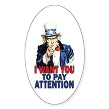 Uncle Sam: Classroom Decal