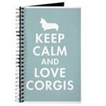Keep Calm and Love Corgis Journal