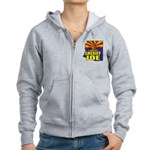 I Stand with Sheriff Joe Women's Zip Hoodie
