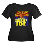 I Stand with Sheriff Joe Women's Plus Size Scoop N