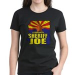 I Stand with Sheriff Joe Women's Dark T-Shirt