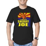 I Stand with Sheriff Joe Men's Fitted T-Shirt (dar