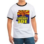 I Stand with Sheriff Joe Ringer T