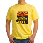 I Stand with Sheriff Joe Yellow T-Shirt