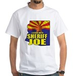 I Stand with Sheriff Joe White T-Shirt