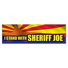 I Stand with Sheriff Joe Bumper Sticker