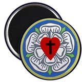 Round Luther Seal Magnet (100 pack)