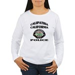 Calipatria Police Women's Long Sleeve T-Shirt