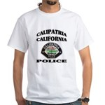 Calipatria Police White T-Shirt