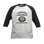 Calipatria Police Kids Baseball Jersey