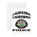 Calipatria Police Greeting Cards (Pk of 20)