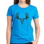 European mount mule deer Women's Dark T-Shirt