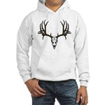 European mount mule deer Hooded Sweatshirt