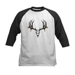 European mount mule deer Kids Baseball Jersey