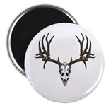 European mount mule deer Magnet