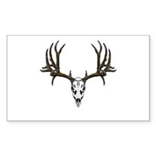 European mount mule deer Decal