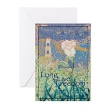 The White Rose Greeting Cards (Pk of 10)