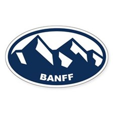 Banff Alberta Decal
