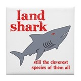 Land Shark Tile Coaster
