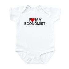 I Love My Economist Infant Bodysuit