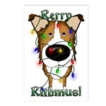 Collie - Rerry Rithmus Postcards (Package of 8)