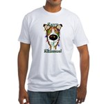 Smooth Collie - Rerry Rithmus Fitted T-Shirt