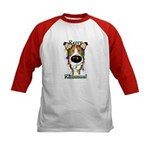 Smooth Collie - Rerry Rithmus Kids Baseball Jersey