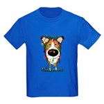 Smooth Collie - Rerry Rithmus Kids Dark T-Shirt