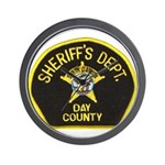 Day County Sheriff Wall Clock