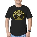 Day County Sheriff Men's Fitted T-Shirt (dark)